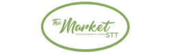 A theme logo of The Market St. Thomas